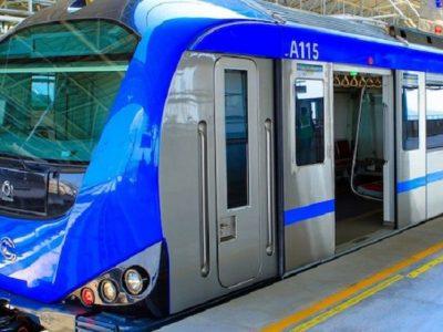1.Chennai Metro Line, India