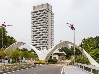 2.	Parliament Building, Malaysia